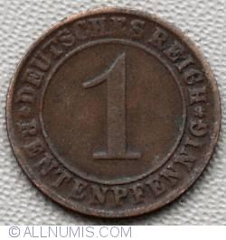 Image #1 of 1 Rentenpfennig 1924 D