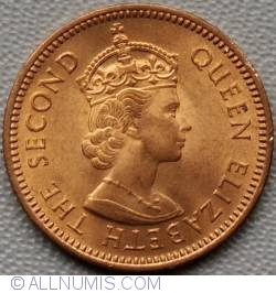 Image #1 of 1/2 Cent 1955