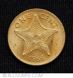 Image #2 of 1 Cent 1966