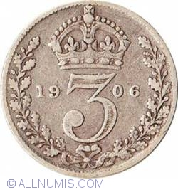 Threepence 1906
