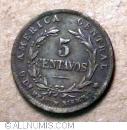 Image #2 of 5 Centavos 1889