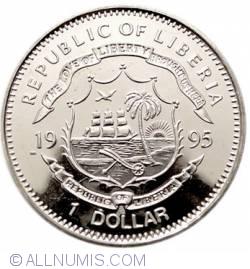Image #2 of 1 Dollar 1995