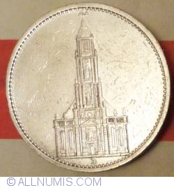 Image #2 of 5 Reichsmark 1934 D