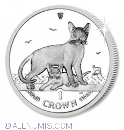 Image #2 of 1 Crown 2010 - Abyssinian Cat