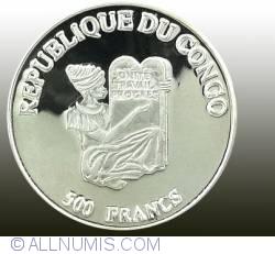 Imaginea #2 a 500 Francs 1996