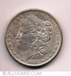 Image #1 of Morgan Dollar 1881 S