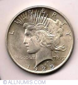 Image #1 of Peace Dollar 1925