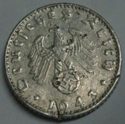 Image #2 of 50 Reichspfennig 1943 J