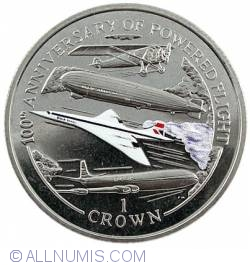 1 Crown 2003 - 100th Anniversary of Powered Flight
