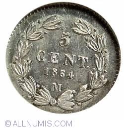 Image #2 of 5 Centavos 1864 M