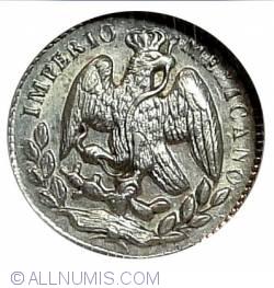 Image #1 of 5 Centavos 1864 M