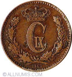 Image #1 of 1 Skilling Rigsmont 1867