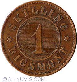 Image #2 of 1 Skilling Rigsmont 1867