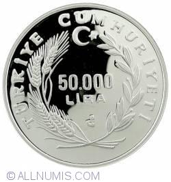 Image #2 of 50000 Lira 1991