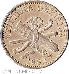 Image #1 of 5 Centavos 1882