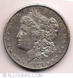 Morgan Dollar 1878 S