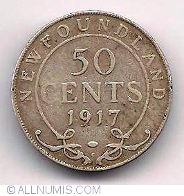 50 Cents 1917, Newfoun...