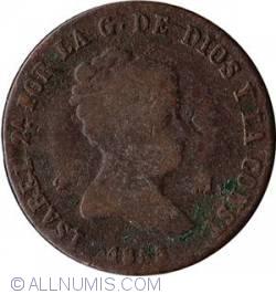Image #2 of 4 Maravedis 1855 BA