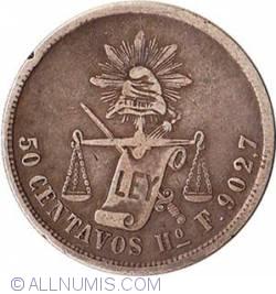 50 Centavos 1876