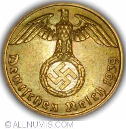 Image #2 of 1 Reichspfennig 1939 A