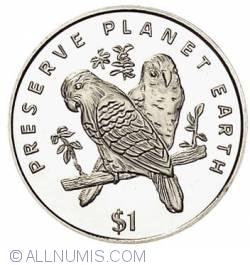 Image #1 of 1 Dollar 1996 Liberia