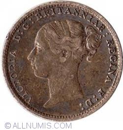 Threepence 1883