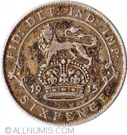 Sixpence 1915
