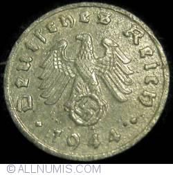 Image #2 of 1 Reichspfennig 1944 F