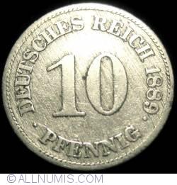 Image #1 of 10 Pfennig 1889 E