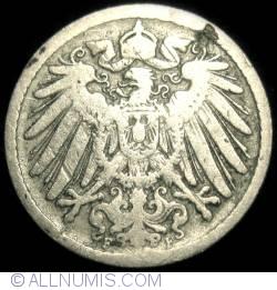 Image #2 of 5 Pfennig 1890 F