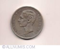 Image #1 of 5 Pesetas 1878 DE-M