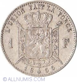 Image #1 of 1 Franc 1866