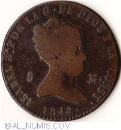 Image #2 of 8 Maravedis 1842