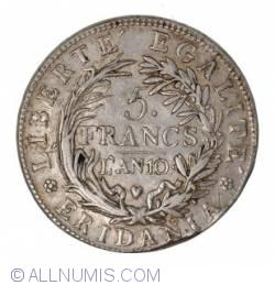 Image #2 of 5 Francs 1801