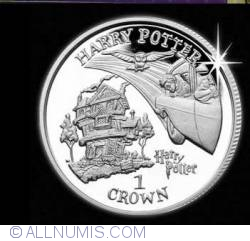 1 Crown 2002 - Harry Potter - Arriving at The Burrow