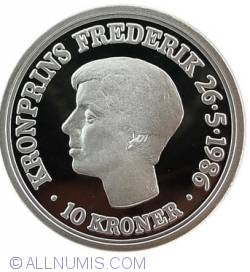 10 Kroner 1986 - 18th Anniversary of Prince
