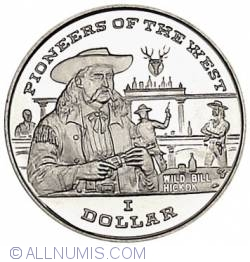 Image #1 of 1 Dollar 1996 Wild Bill