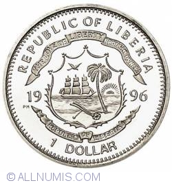 Image #2 of 1 Dollar 1996 Wild Bill