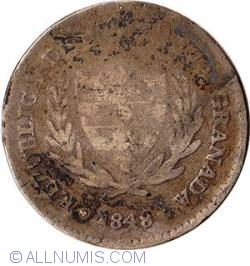 Image #2 of 2 Reales 1848