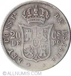 Imaginea #2 a 20 Centimos 1883