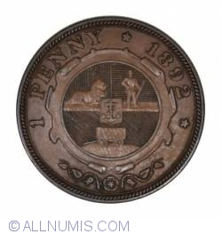 Image #1 of 1 Penny 1892