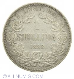 Image #1 of 1 Shilling 1892