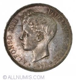 Image #1 of 5 Pesetas 1899