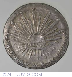 Image #1 of 8 Reales 1886 Pi M.R.