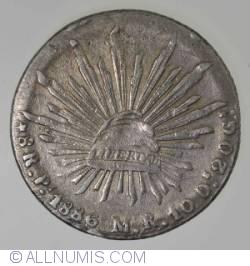 Imaginea #1 a 8 Reales 1886 Pi M.R.