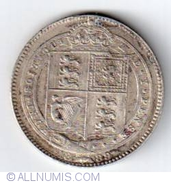 Shilling 1889