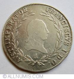 Image #2 of 20 Kreuzer 1814 A
