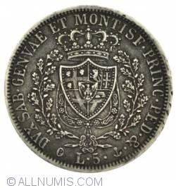 Image #1 of 5 Lire 1827 P