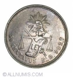 Image #1 of 50 Centavos 1887 Pi