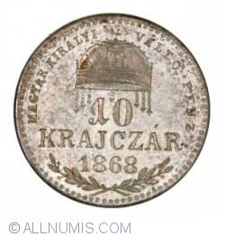Image #1 of 10 Krajczar 1868 KB